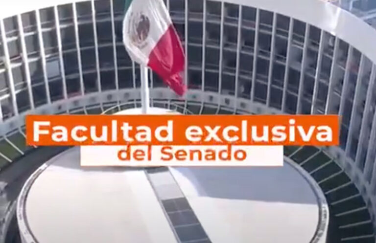 Facultad Exclusiva del Senado